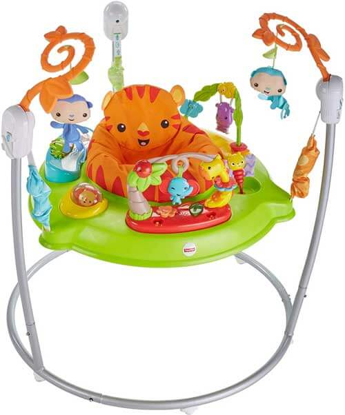 Fisher-Price CHM91 Roaring Rainforest Baby Jumperoo