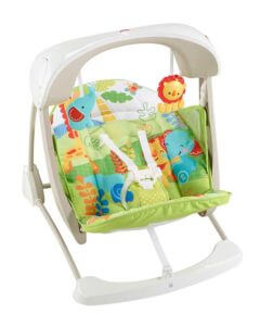 Fisher-Price Rainforest Take Along Swing and Seat Set