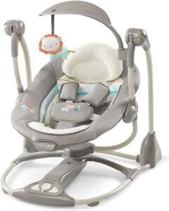 Ingenuity ConvertMe Swing-2-Seat - Candler baby swing chair