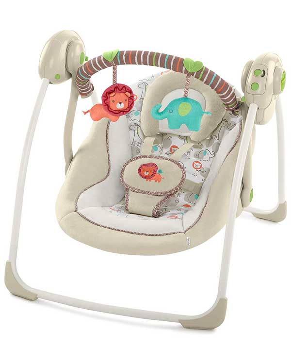 Ingenuity Soothe 'n Delight Portable Swing for baby