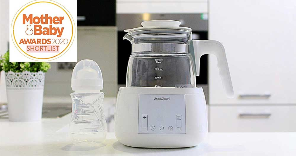 UneeQbaby Baby Formula Kettle with Built-in Thermostat