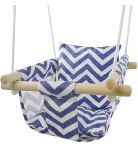 Happypie Baby Secure Canvas Folding Hanging Swing Seat