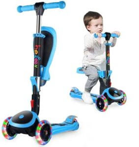 BELEEV 2 in 1 Scooter for Toddlers
