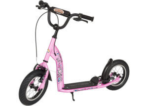BIKESTAR Kick Scooter Best 2 Wheel Scooter with Air Tyres
