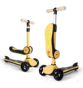 Besrey Kids 3 Wheel Scooter for 1 year old