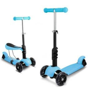 OUTCAMER Scooter for Kids with Seat