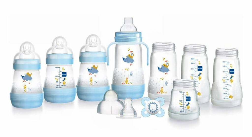 MAM Easy Start Self Sterilising Anti Colic Starter Set