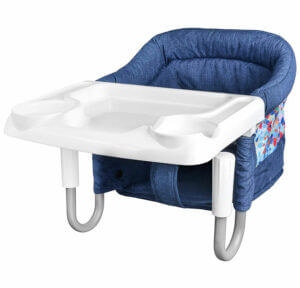 STEO-Folding Baby High Chair with Tray
