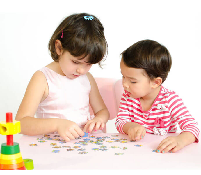 Puzzle Hand Eye Coordination Exercises