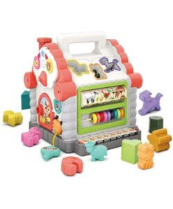 Early Education Multifunctional Musical Activity Play Centre House