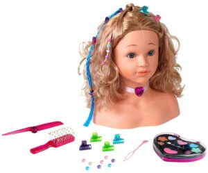 Princess Coralie Make-Up and Hairdressing Head