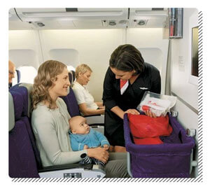 Aisle Seat for Baby