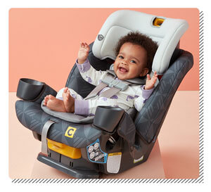 Baby Car Seat in the House