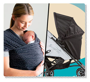 Baby Sling or Compact Stroller