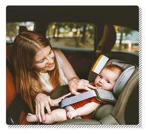 Make Baby Comfortable in the Car Seat
