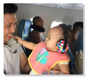 Protecting Ears while Flying with a Baby