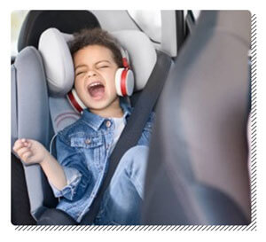 Singing Song in the Car Seat
