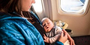 Traveling with a Newborn Baby on a Flight or in a Car
