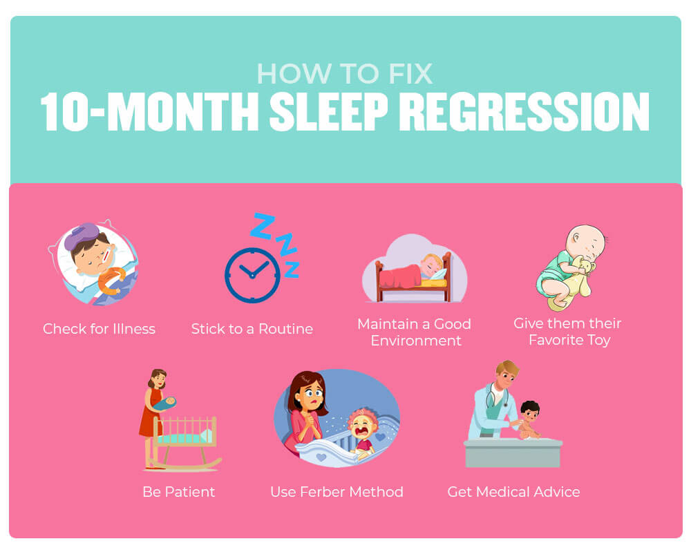How to Deal with 10-Month Sleep Regression